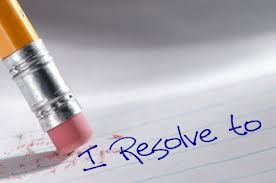 I resolve to with eraser